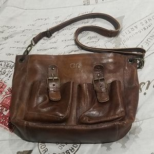 Bed Stu TEAK leather purse PARTEN
